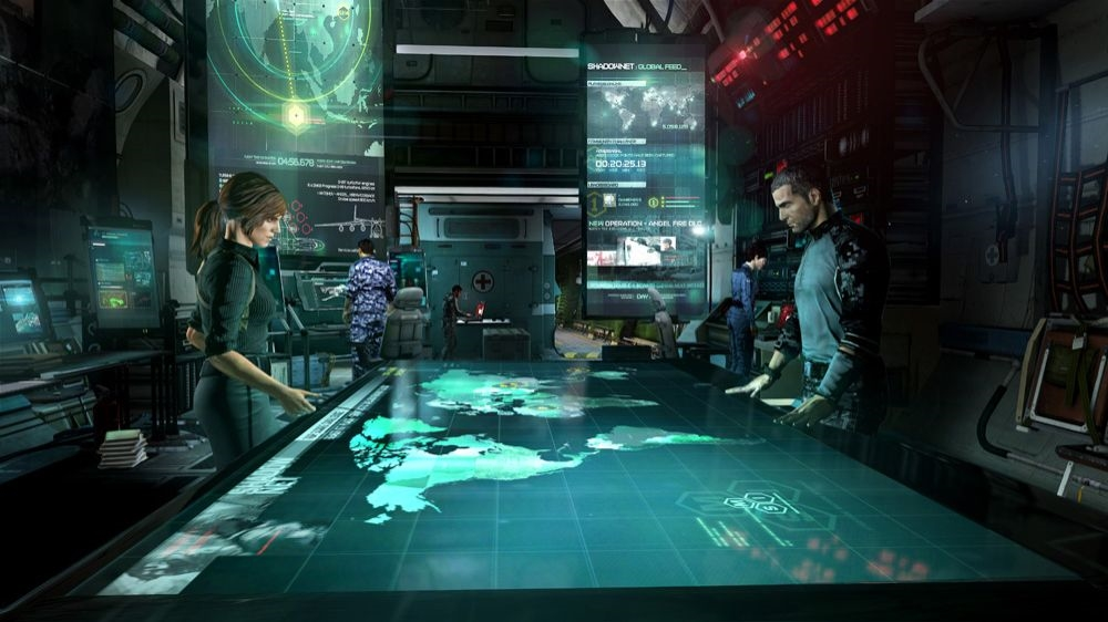 Bild från Tom Clancy's Splinter Cell® Blacklist™