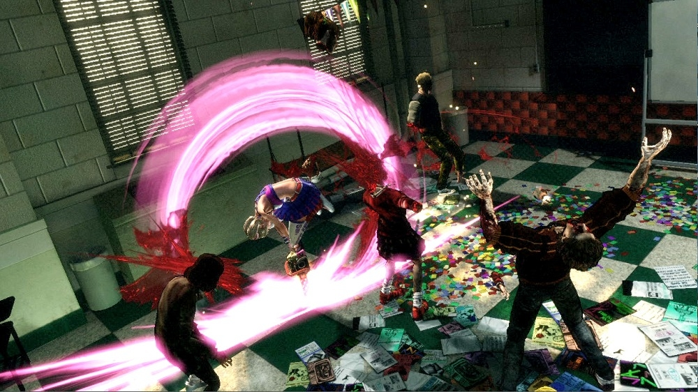 Image from Lollipop Chainsaw