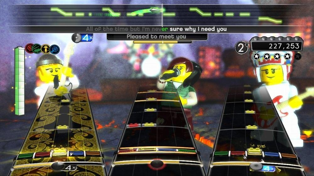 Image from LEGO Rock Band