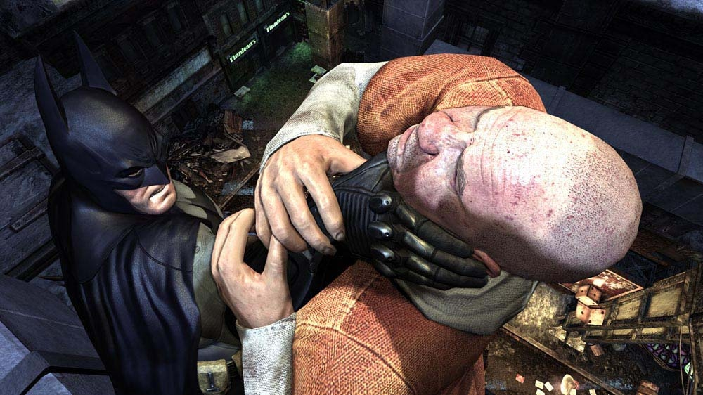 Image from Batman: Arkham City