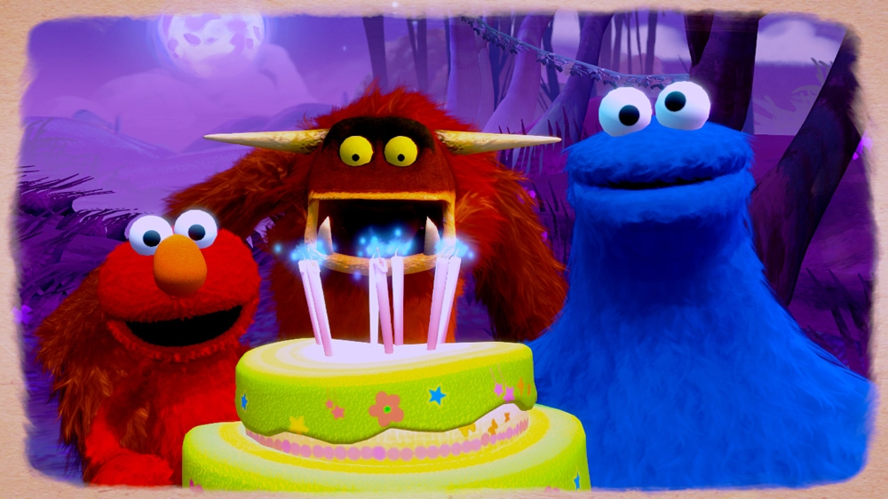 Kuva pelistä Sesame Street: Once Upon a Monster