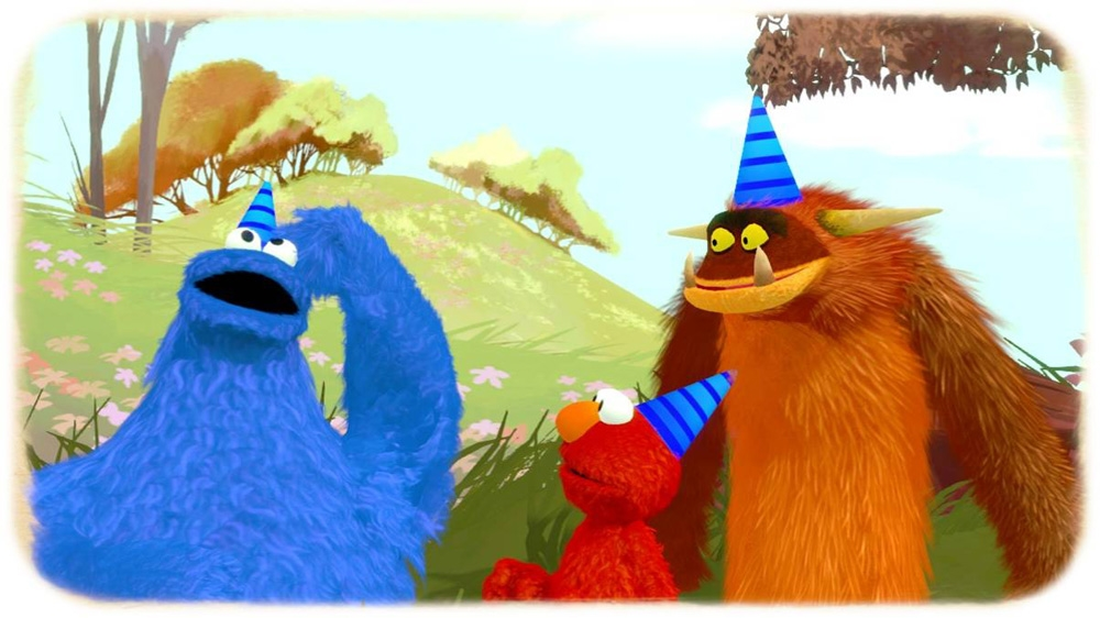 Image from Sesame Street: Once Upon a Monster