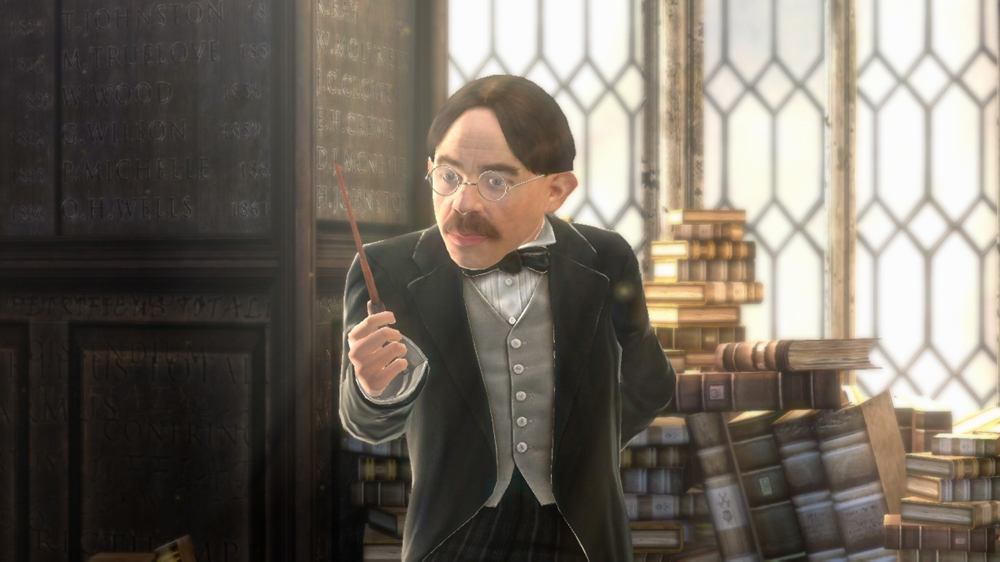 Image from Harry Potter for Kinect