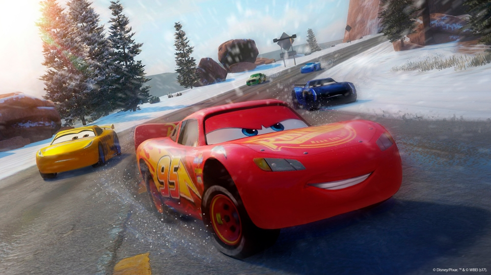 Snímek ze hry Cars 3: Driven to Win