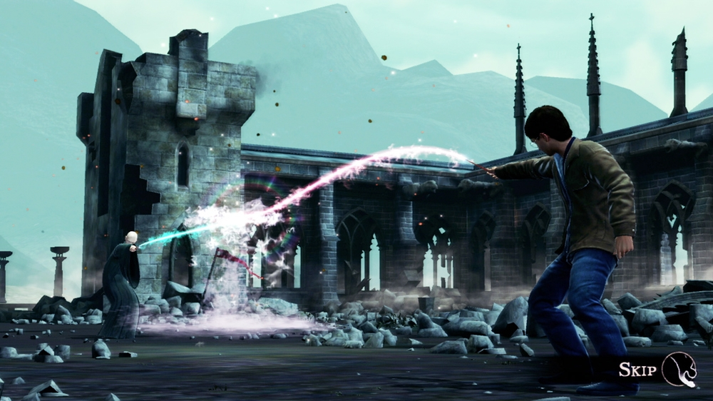 Snmek ze hry Harry Potter for Kinect - Demo