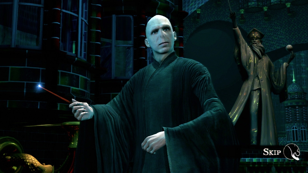 Image from Harry Potter for Kinect - Demo