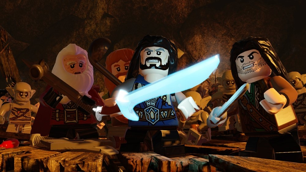 Kuva pelistä LEGO The Hobbit -demo