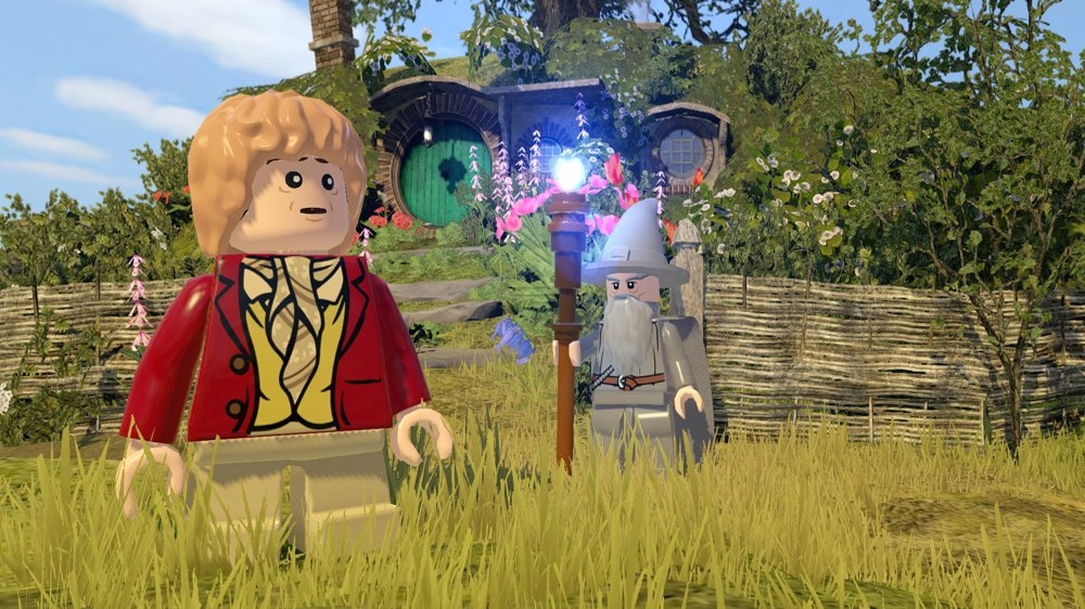 Image from LEGO The Hobbit Demo