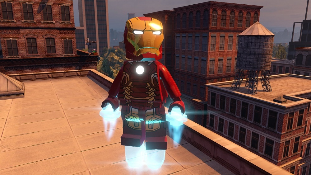 Image from LEGO® Marvel's Avengers Demo