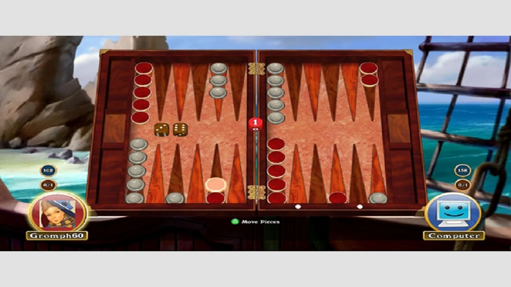 Immagine da Hardwood Backgammon