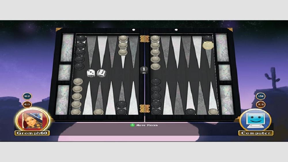 Image de Hardwood Backgammon