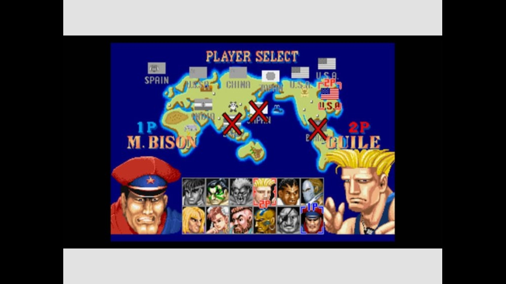 Image from Street Fighter II&#39; HF