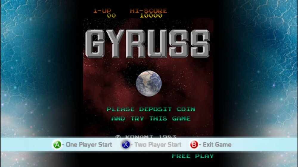 Image from Gyruss