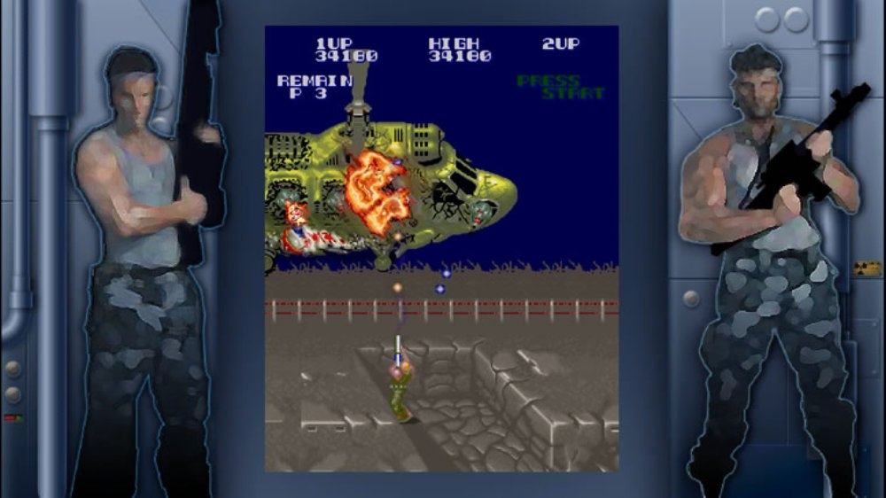 Image from Super Contra
