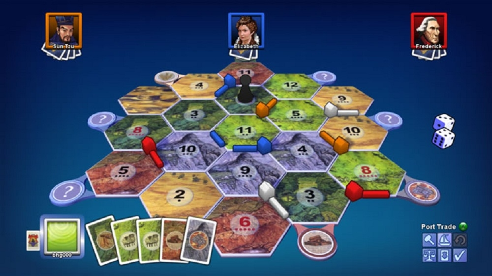 Image from Catan