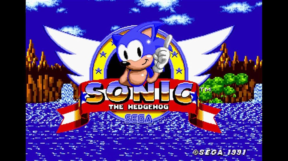 Bild från Sonic The Hedgehog