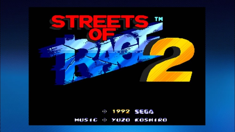 Image from Streets of Rage 2