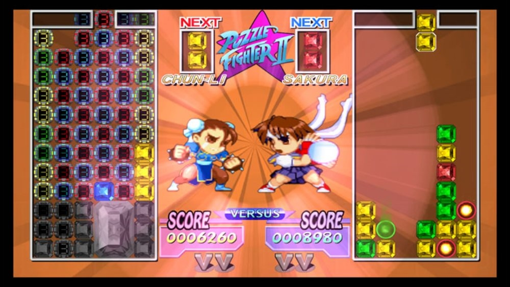 Bild från Puzzle Fighter HD