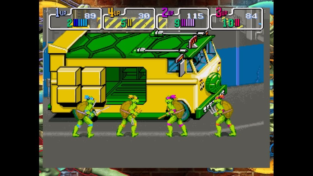 Image from TMNT 1989 Arcade