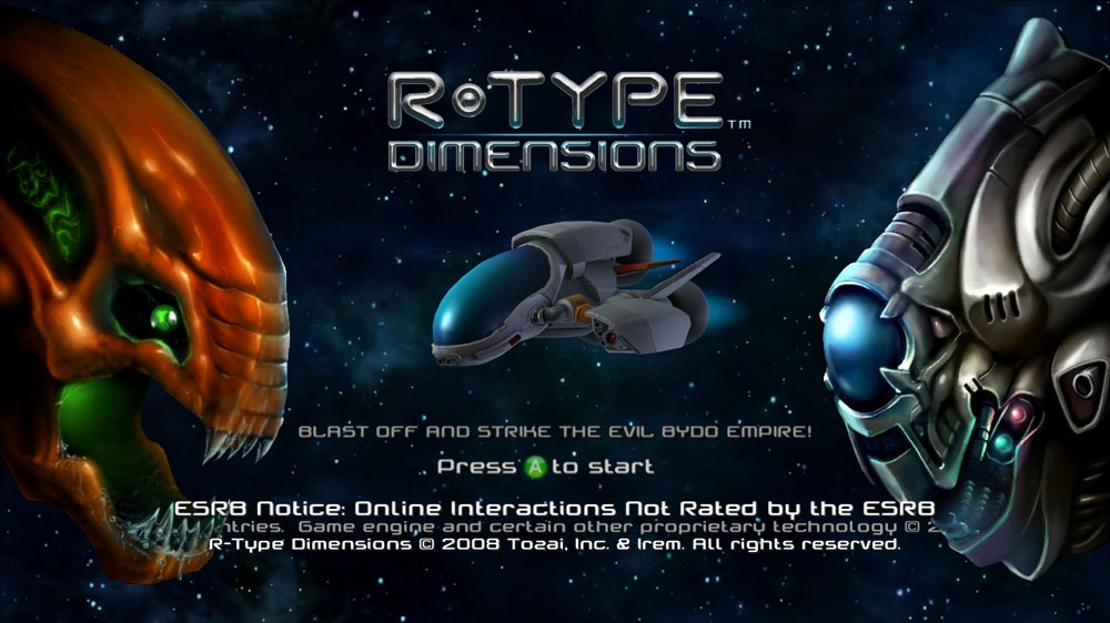 R-Type Dimensions™ の画像