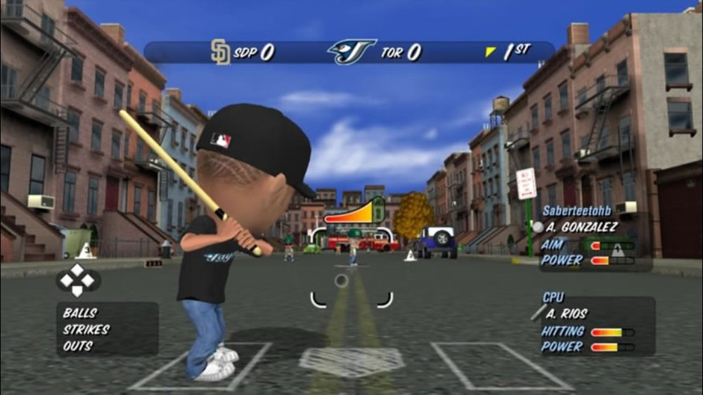 Image from MLB® Stickball