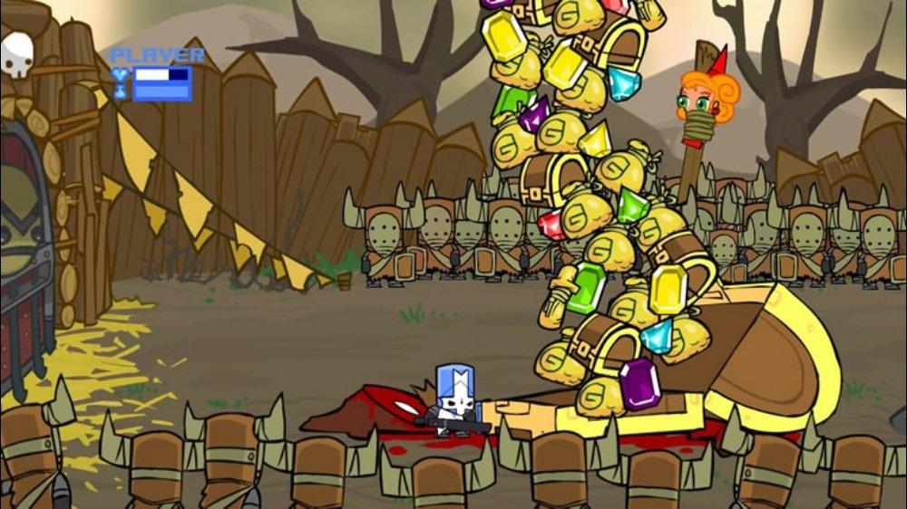Snímek ze hry Castle Crashers