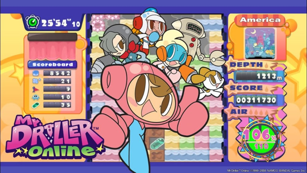Image from Mr. DRILLER Online