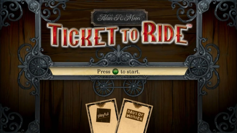 Snímek ze hry Ticket to Ride™