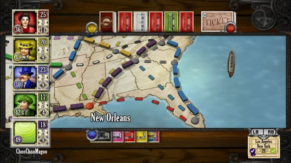 Image from Ticket to Ride