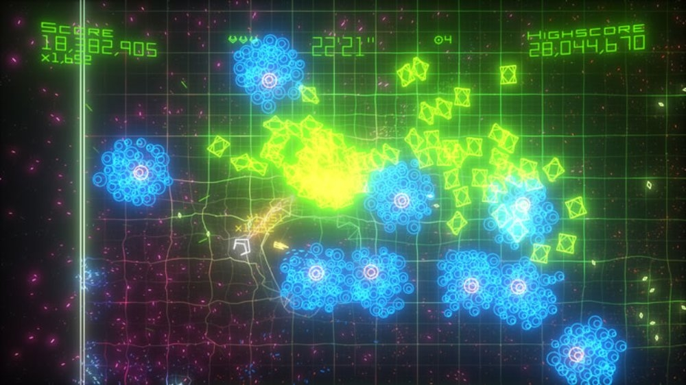Image from Geometry Wars Evolved