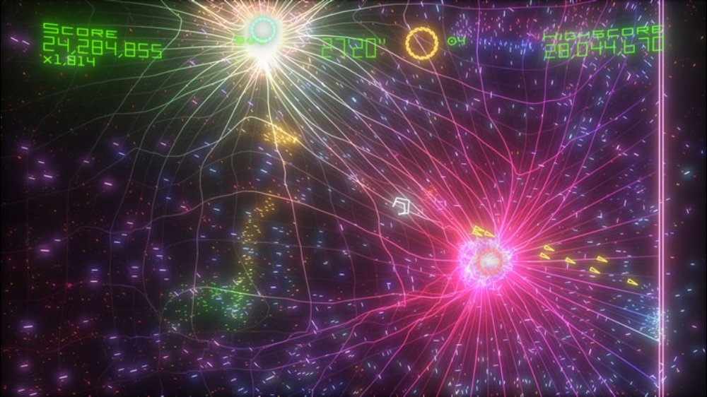 Image from Geometry Wars Evolved²