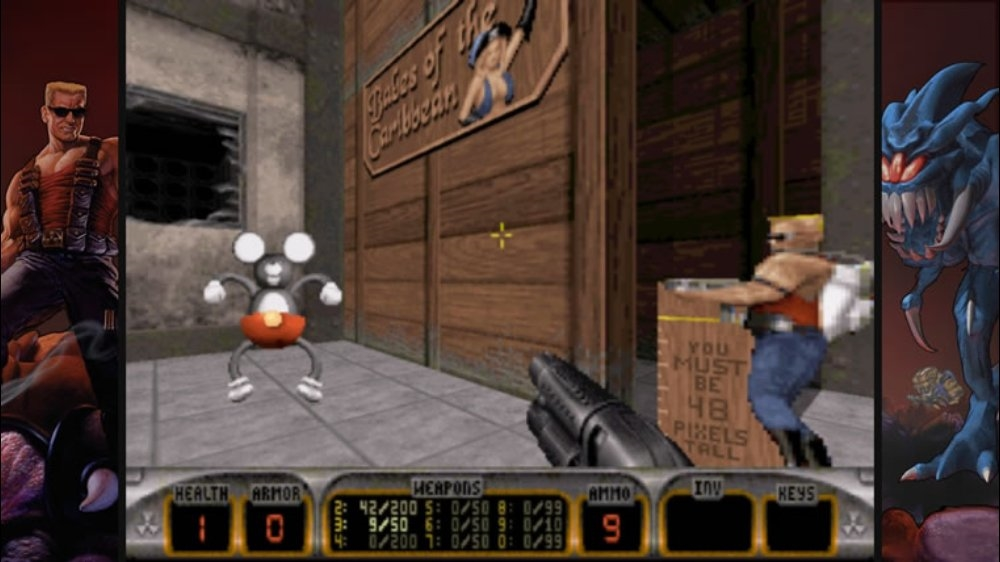 Image from Duke Nukem 3D
