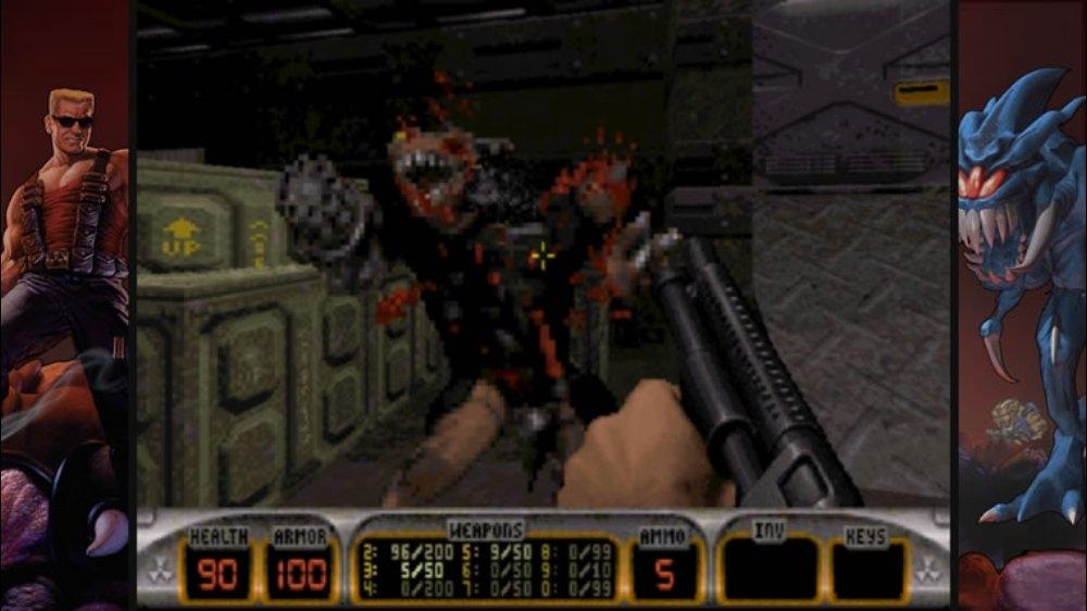 Image from Duke Nukem 3D