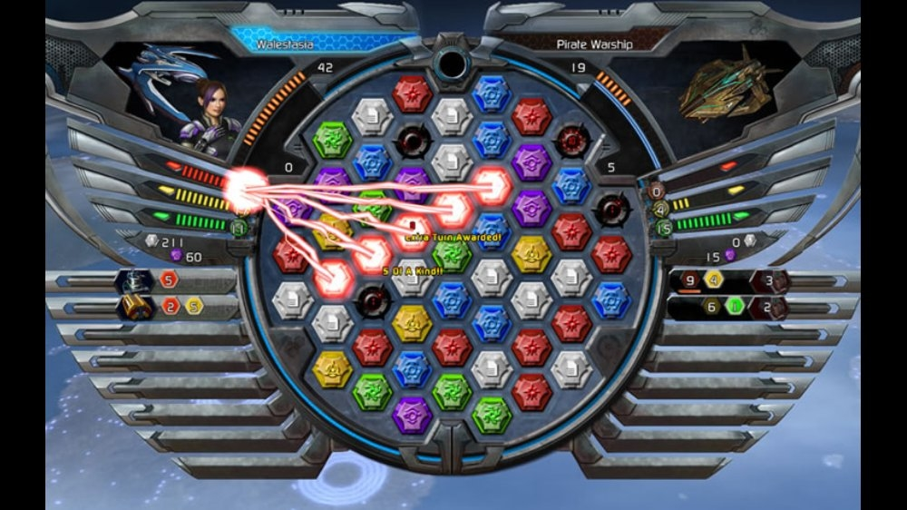 Puzzle Quest Galactrix のイメージ