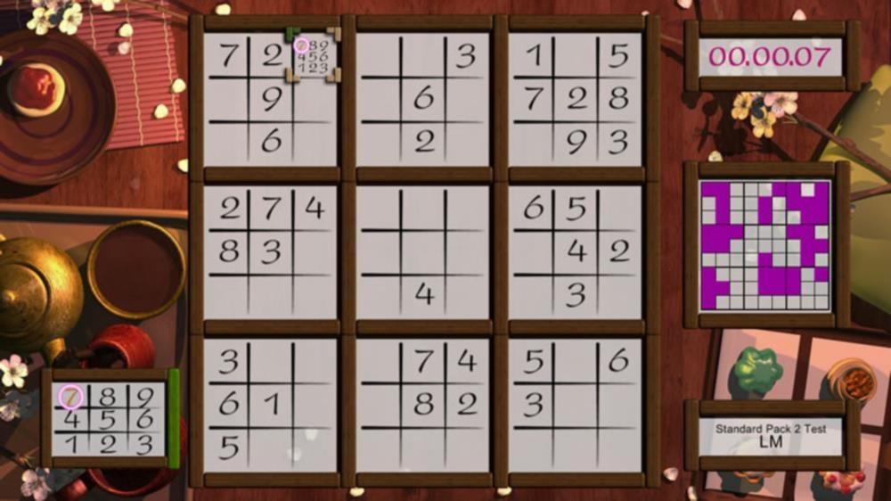 Buku数字パズル のイメージ