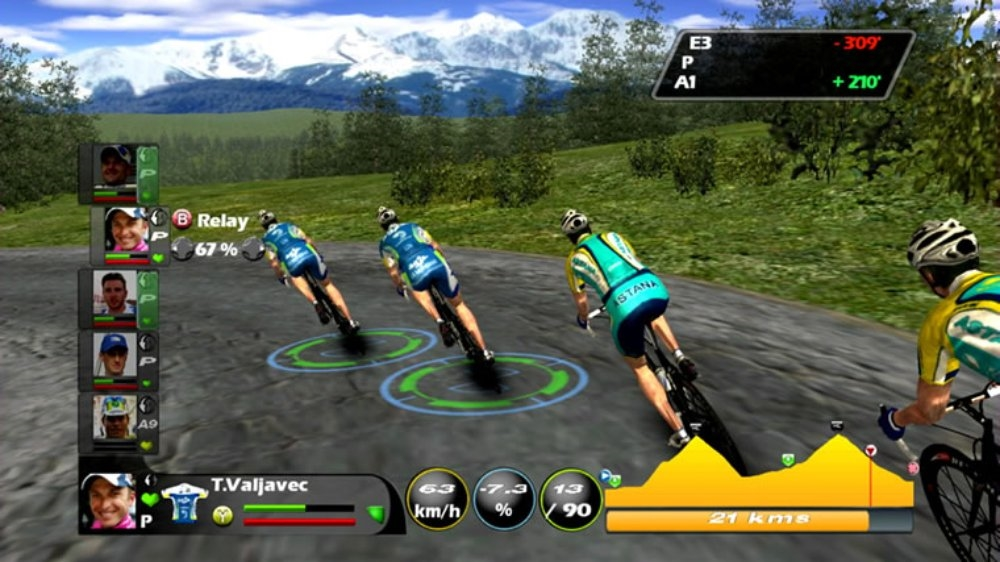 Image from Tour de France 2009