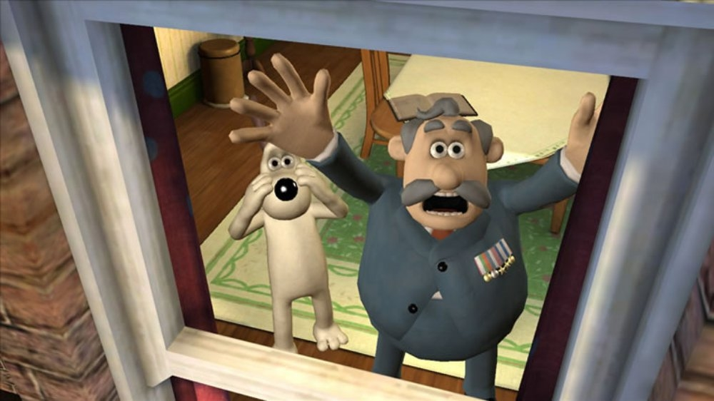 Image from Wallace & Gromit #1