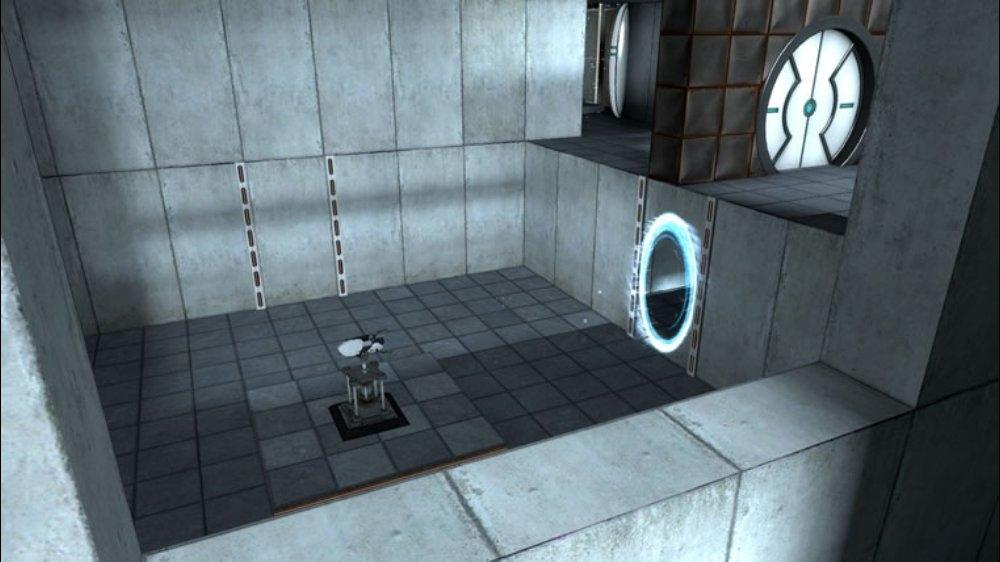 Snímek ze hry Portal: Still Alive