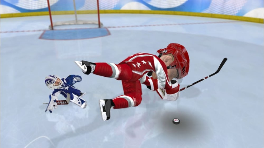 Image from 3 on 3 NHL Arcade