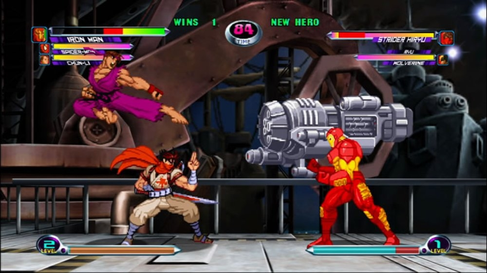 Image from Marvel vs. Capcom 2