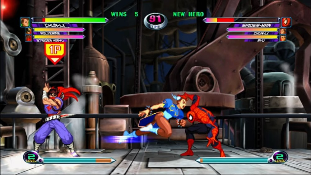 Bild frn Marvel vs. Capcom 2