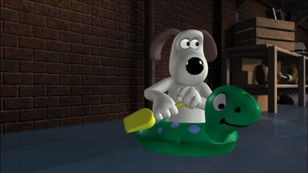 Image from Wallace & Gromit #2