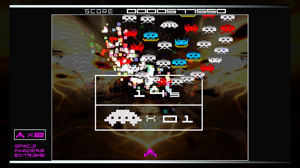 Space Invaders Extreme のイメージ