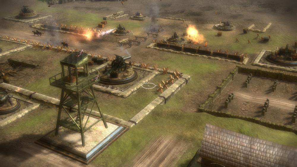 Snímek ze hry Toy Soldiers