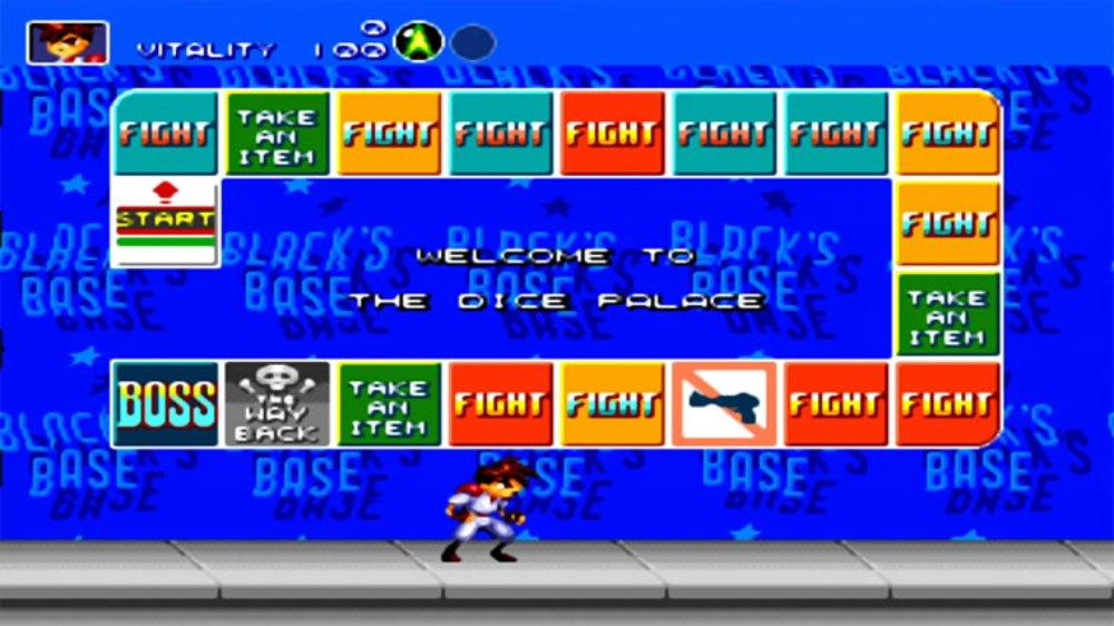 Image from Gunstar Heroes