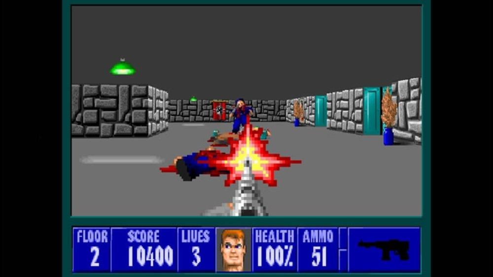 Image from Wolfenstein 3D