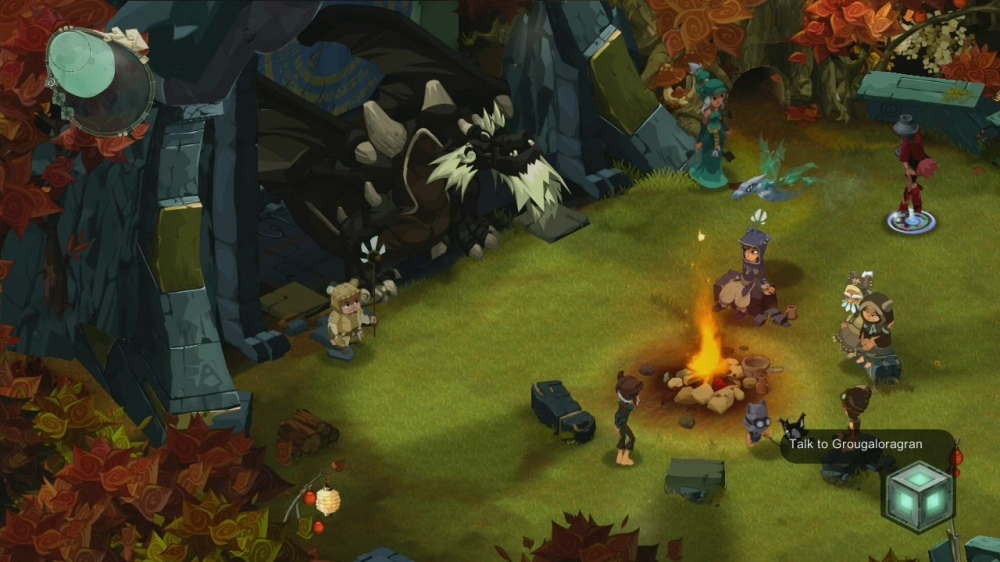 Image from Islands of Wakfu 