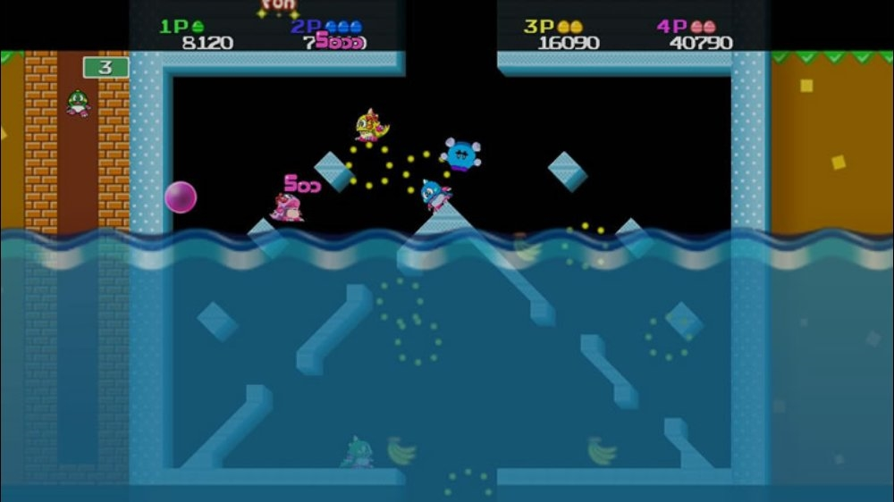 Image from BUBBLE BOBBLE Neo!