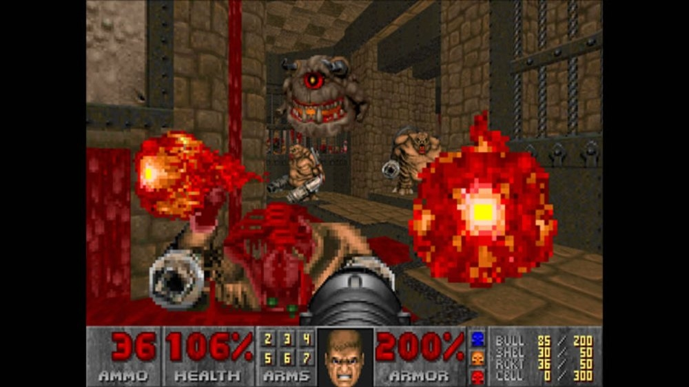 Image from DOOM II