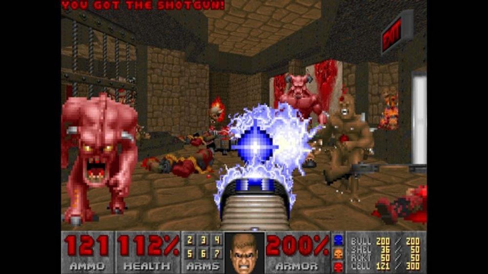 Image from DOOM II